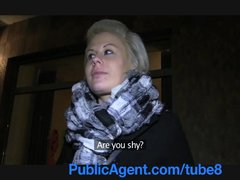 PublicAgent Partners in Porn they trick blonde into fucking the cameraman