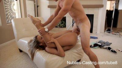 Nubiles Casting - Cute blonde