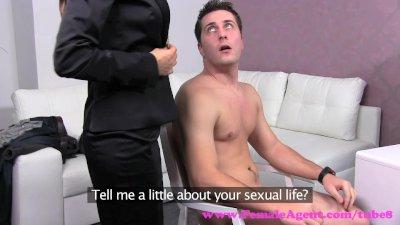 FemaleAgent. Horny sex starved new agent