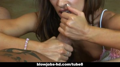 Vanessa Lane expertly makes a cock cry.