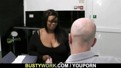 He nails her fat black pussy