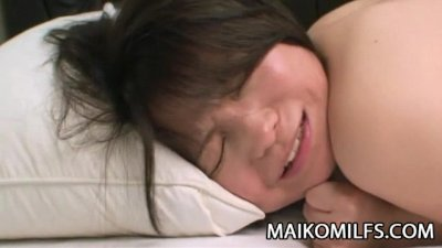 Miho Maeda - Naughty Oriental Wife Gets On All Fours