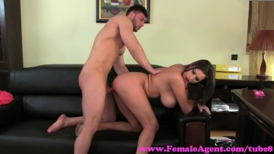 FemaleAgent. Big swinging tits