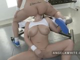 busty angela white and big booty kelly divine anal fucking3gp Porn Videos