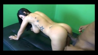 Big Tit White Slut Takes Huge Black Cock In Tight Pussy