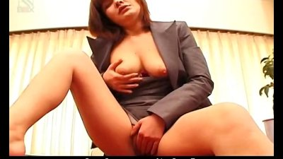Japanese office babe Anna Yumi