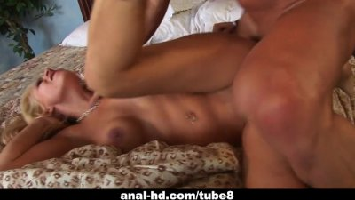 Rebecca Steel gets a thick wang up her ass