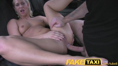 FakeTaxi Hungarian blonde does
