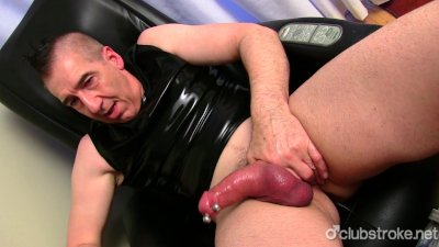 Mature Straight Marc Jerking Off His Pecker