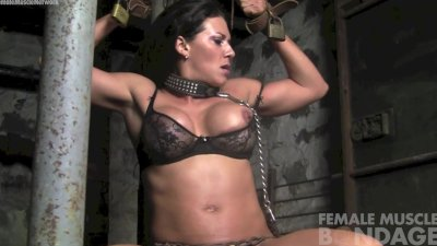 Leena Struggling in Chains