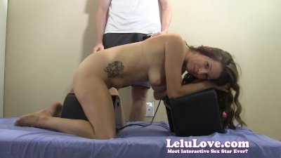 She gets spanked & anal plugge