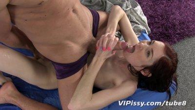 Kattie Golds piss filled pussy