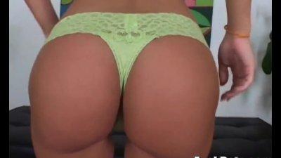 hot latina gives nice pov blow