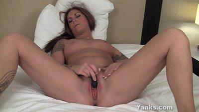Busty Babe Bella Masturbating