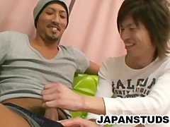 Haruki Noda and Fumio Matsuzaki: Throat Fucking Japanese Guys