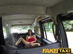 FakeTaxi Hot babe loves taxi cock