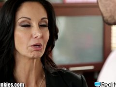 Preview 1 of Realityjunkies Ava Addams And Manuel Ferrara Office Fucking