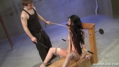 Hardcore flogging session