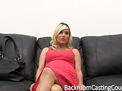 Preview 2 of Pregnant Milf Anal Threeway Casting