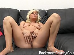 Preview 5 of Pregnant Milf Anal Threeway Casting