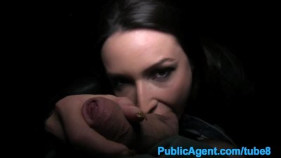 Publicagent Akasha Sex under a