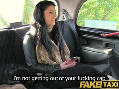 Preview 4 of Faketaxi Her Choice Is Get Out And Walk Or Suck His Cock
