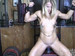 Mature Blonde Creamy Bondage