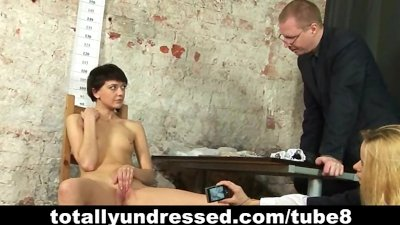 Dirty job interview for young