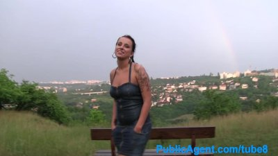 PublicAgent Hardcore sex outside in a thunderstorm