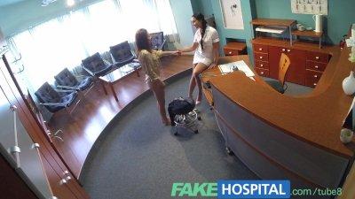 FakeHospital Nurse seduces pat