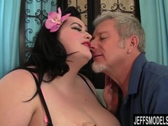 Preview 2 of Bbw Eliza Allure Gets Her Pussy Pounded By A Fat Cock