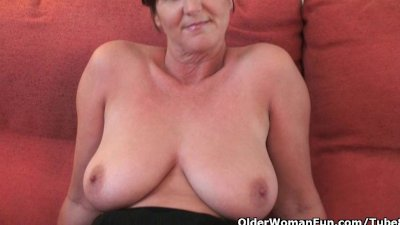 British granny Joy spreads her