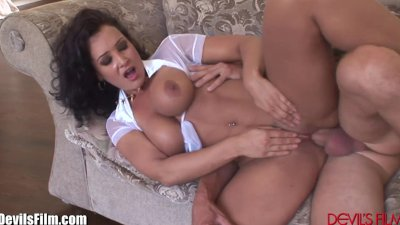 DevilsFilm Lisa Ann Seduces Yard Worker