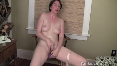 MILF Inara Fucks A Dildo For Orgasm