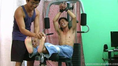 Argie's Ticklish Workout