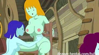 Adventure Time hentai - Bikini Babes time!