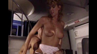 Uniform fucking on a plane