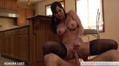 Brunette Kendra Lust take cock