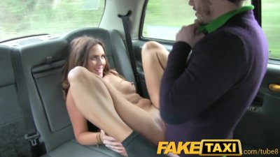 Amateur couple in cab bondage gagged 3