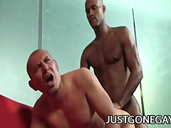 Billy Long and Antonio Moreno: Latino Daddy Stretched By Scary Black Cock