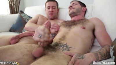 Lustful gays fucking