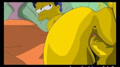 Simpsons Hentai - Homer fucks