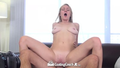 HD CastingCouch-X - Southern blonde Allie Rae is ready for porn