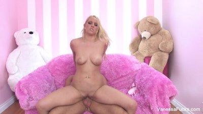 Vanessa Cage Takes A Big Cock