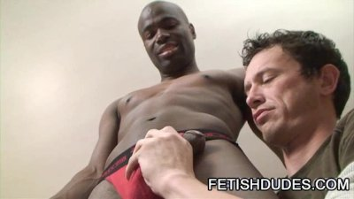 Derrick Paul: Sizzling JockStrap Worship Scene From Two Fetish Guys