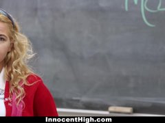 InnocentHigh - Tiny School Girl Groped by Horny Teacher