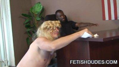 Hot Boi and Mark GalfTone: Hot Cross-Dress Humiliation Sex Scene