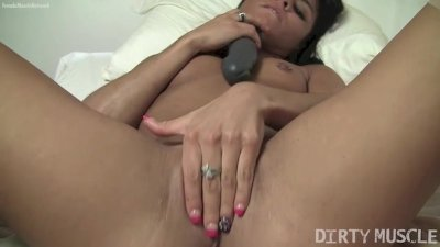 Sexy Vita Fucks Herself With A Dildo
