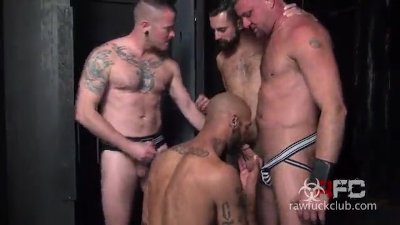 Max, Kory, Dean and Christian Raw