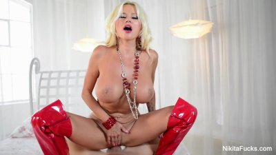 Nikita Von James Gets Pounded